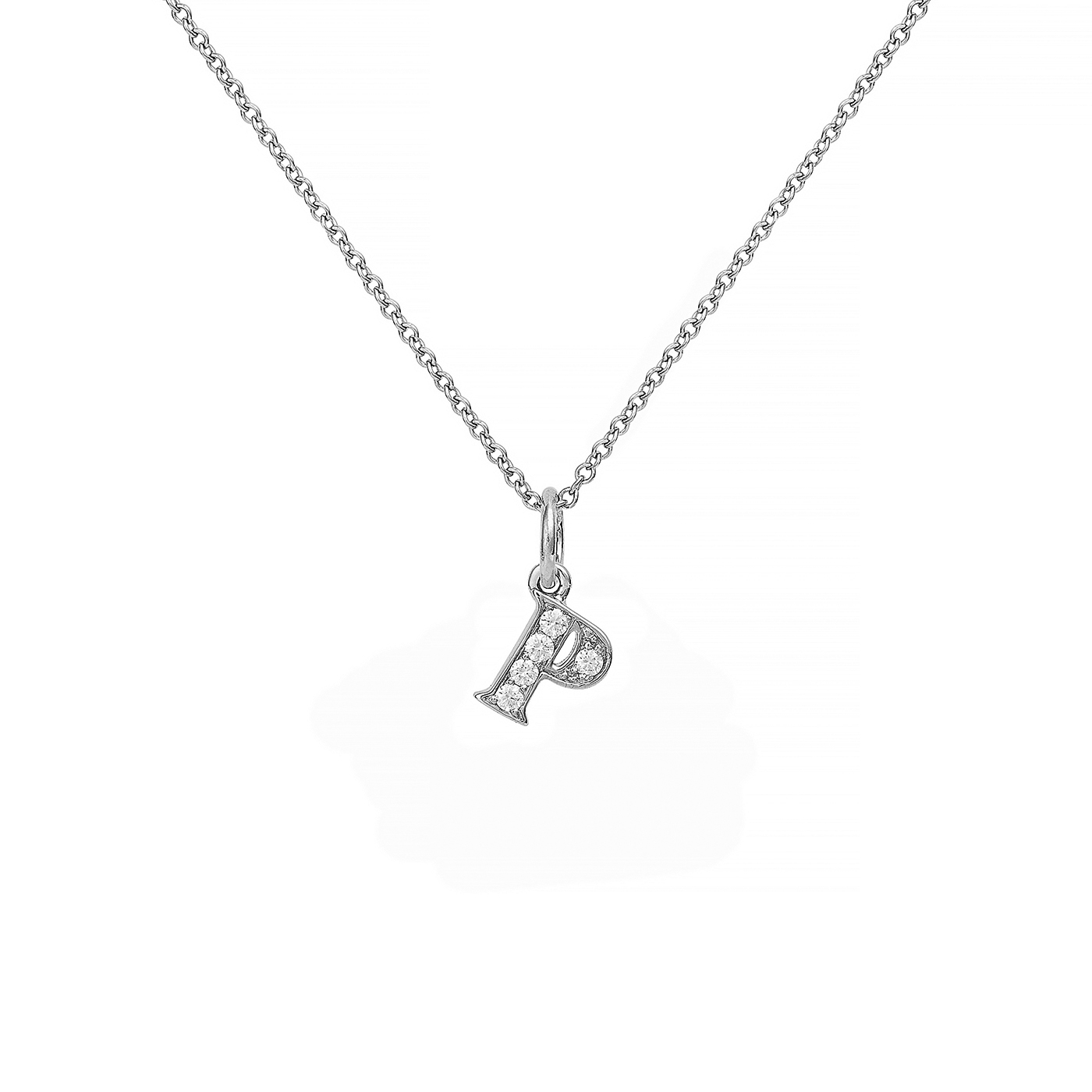 : - Love Letter 18 K vitguld & Diamanter – P