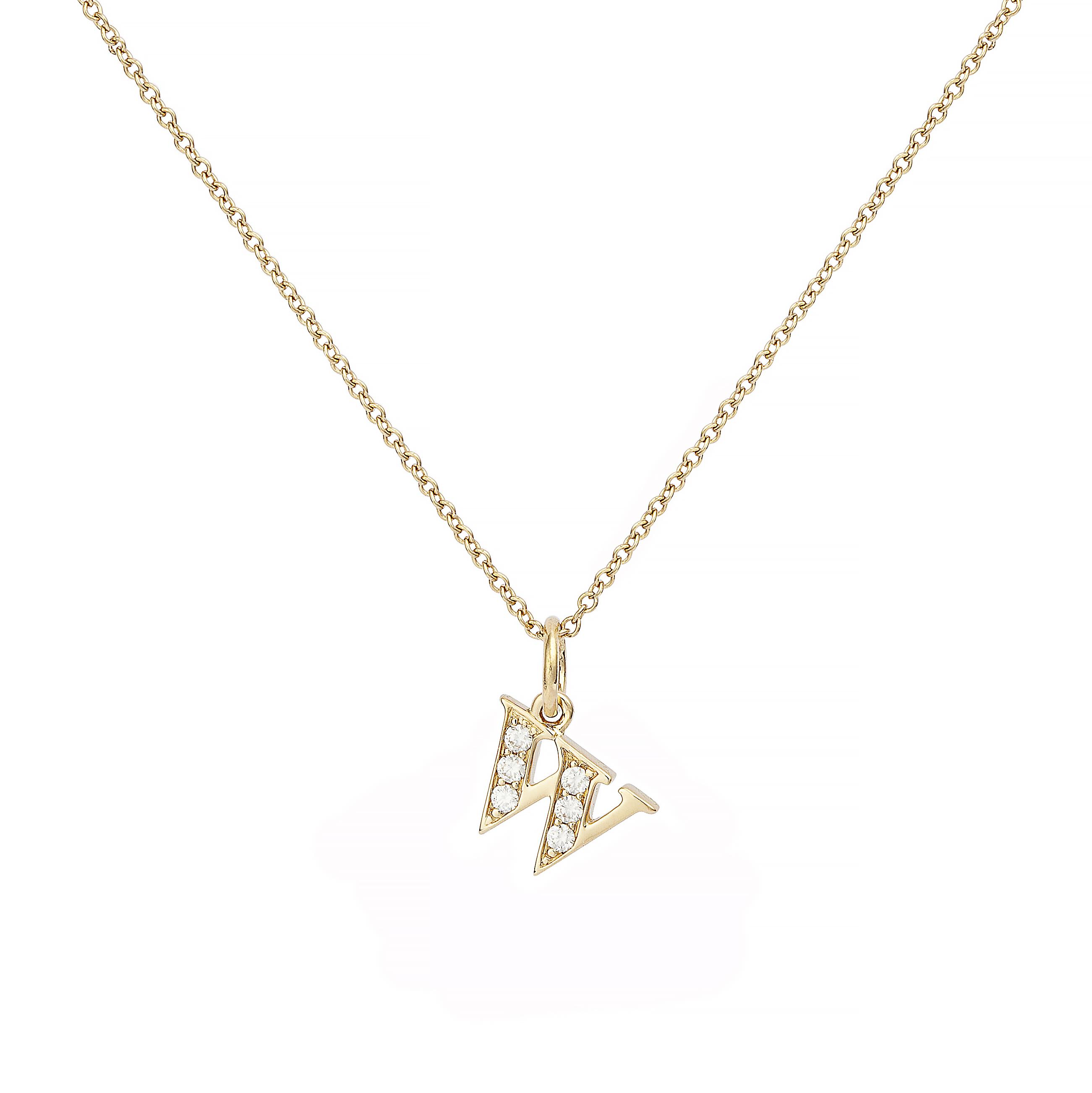 : - Love Letter 18 K guld & Diamanter – W