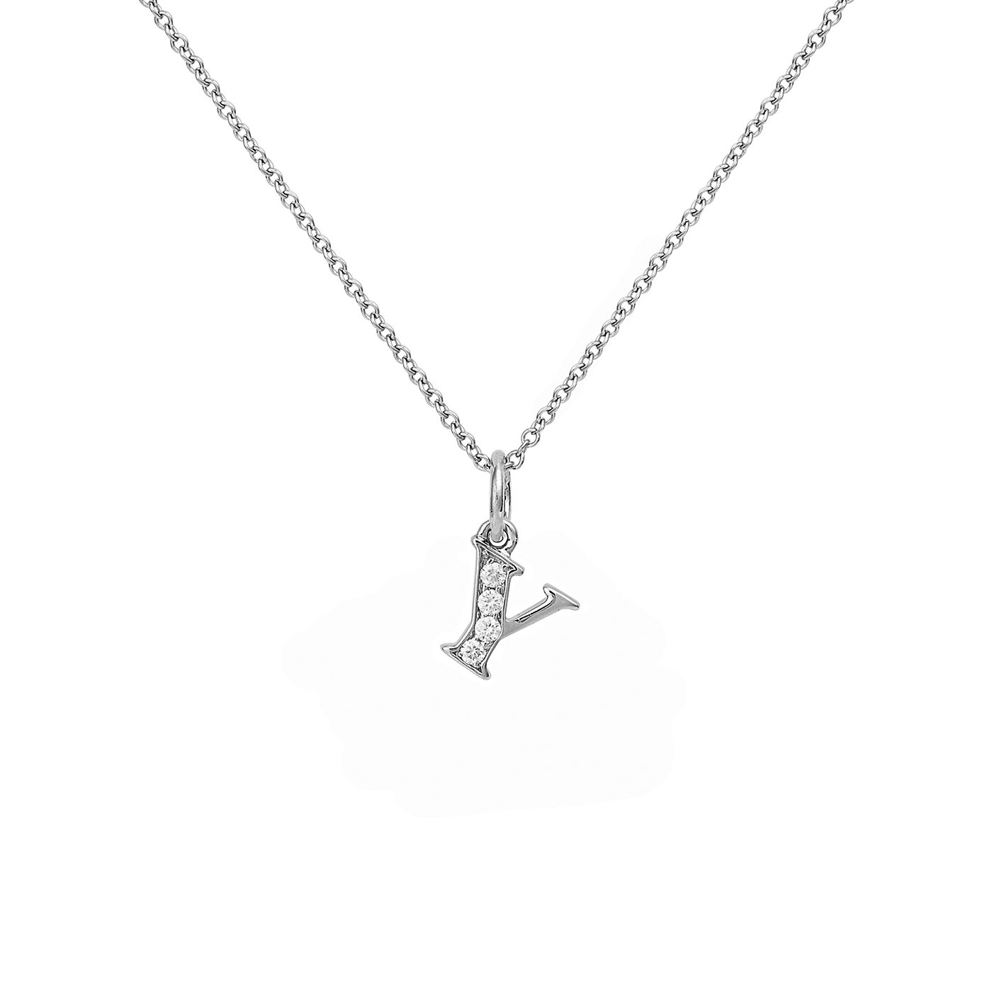 : - Love Letter 18 K vitguld & Diamanter – Y