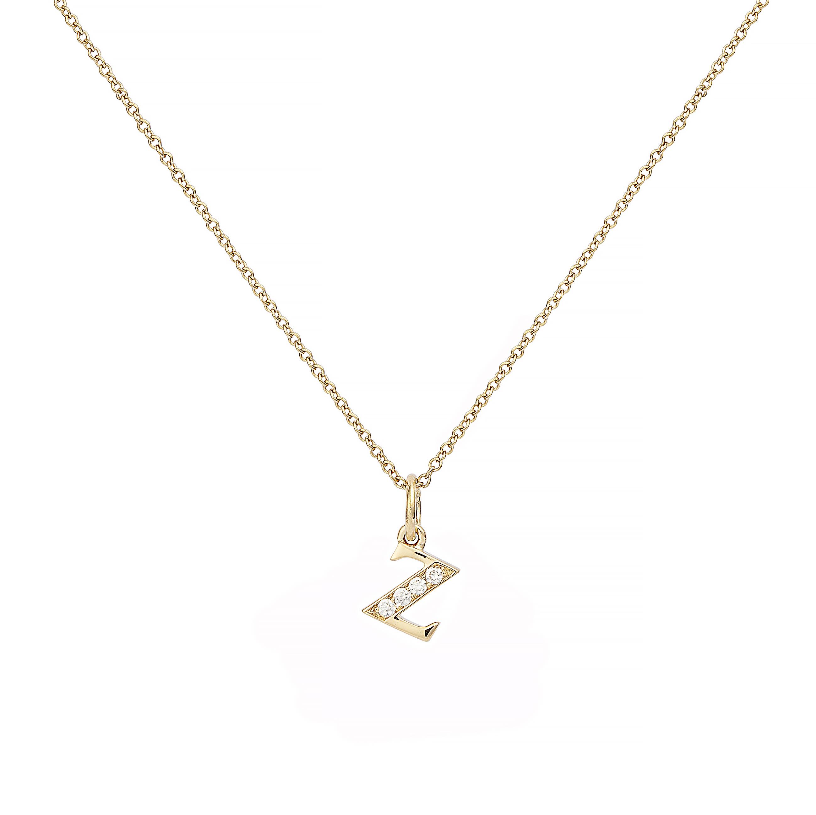 : - Love Letter 18 K guld & Diamanter – Z