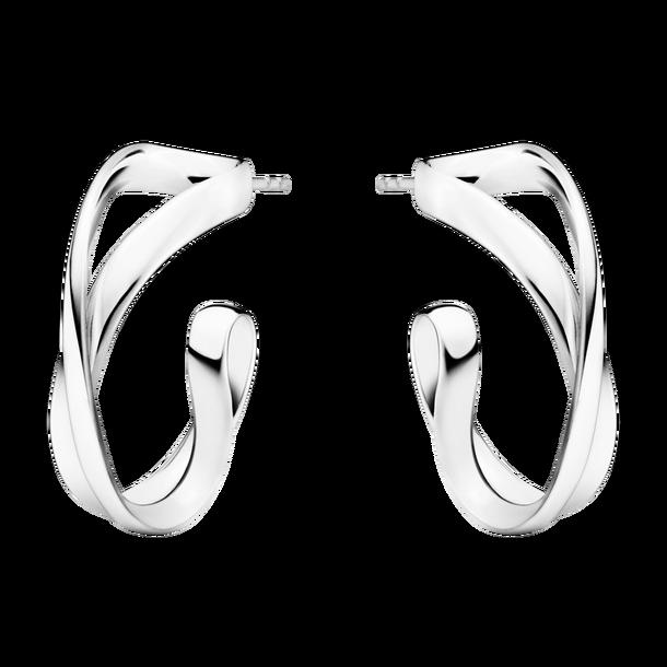 Georg Jensen Infinity Örhänge Silver