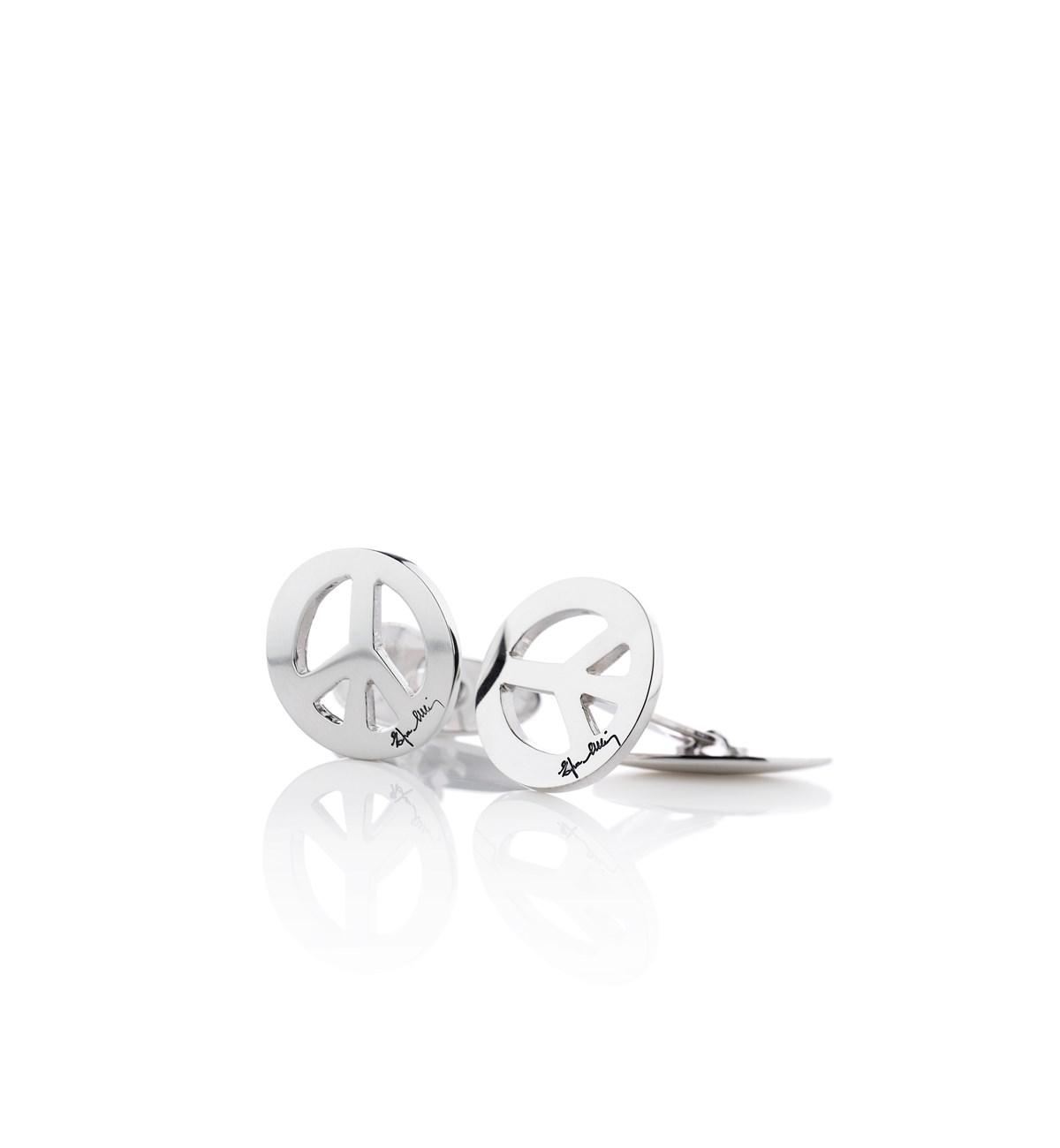 : - Peace Cufflinks