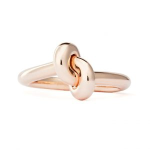 Absolutely Tight Knot Ring Roséguld