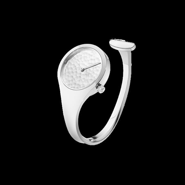 : - Vivianna Bygelklocka 27 mm – Hamrad silverurtavla Limited edition