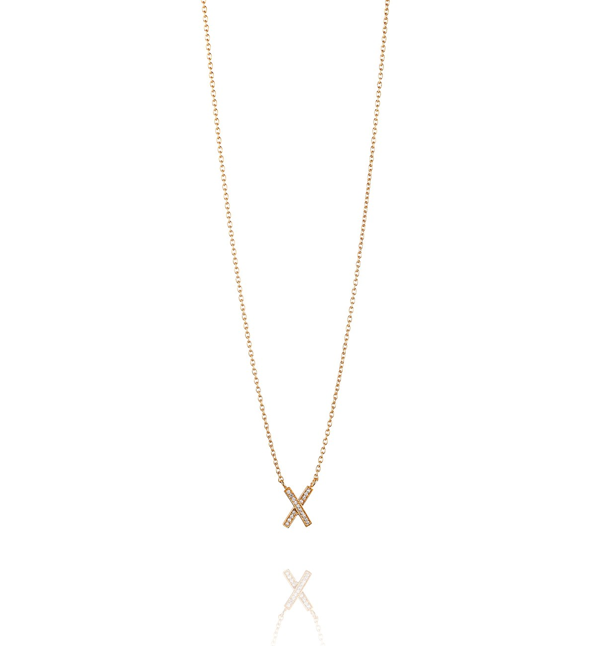 : - Kisses and stars necklace