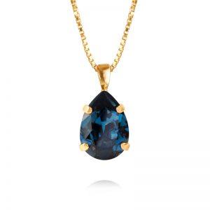 Caroline Svedbom Mini Drop Necklaces Gold Montana