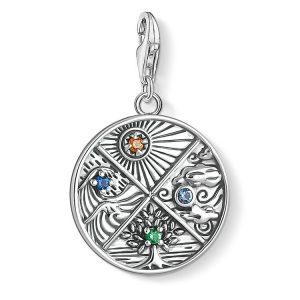 Thomas Sabo Fyra Element Berlock Silver