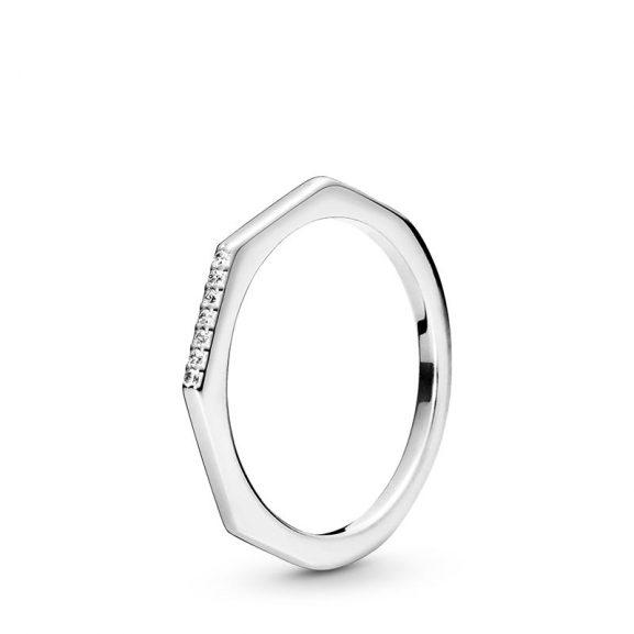 PANDORA Multifaceted Ring Silver
