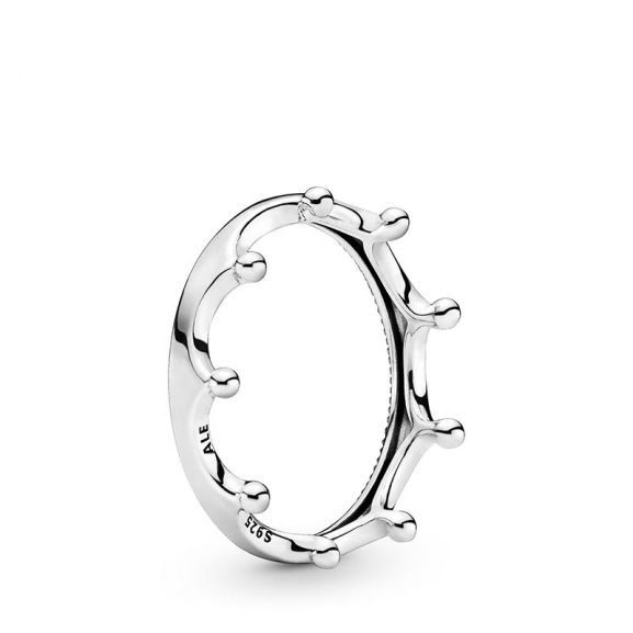 PANDORA Polished Crown Ring