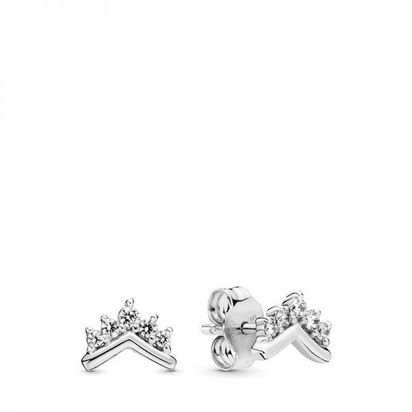 PANDORA Tiara Wishbone Stiftörhängen