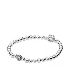 PANDORA Beads & Pavé Armband
