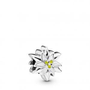 PANDORA Edelweiss Blomma Berlock
