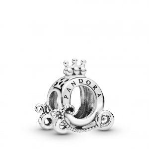 PANDORA Polished Crown O Carriage Berlock