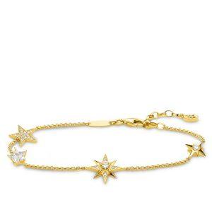Thomas Sabo Armband Stjärna Guld