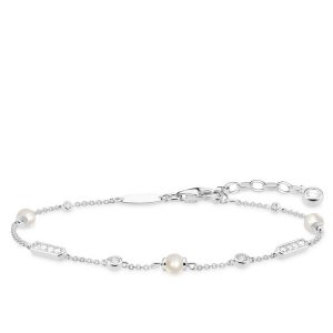 Thomas Sabo Armband I Silver Med Päror