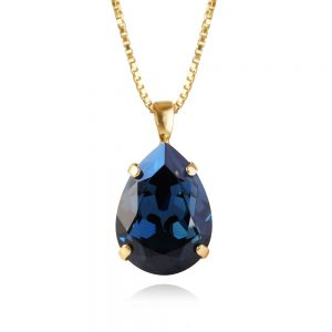 Caroline Svedbom Classic Drop Necklace Gold Montana