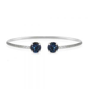 Caroline Svedbom Classic Petite Bracelet Rhodium Montana