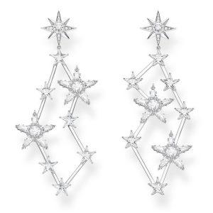 Thomas Sabo Magiska Stjärnörhängen Silver