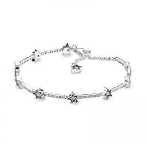 PANDORA Disney Musse och Mimmi Julsläde Berlock Armband fri frakt på Jewelrybox.se
