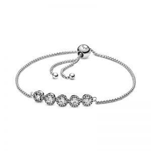 PANDORA Cirklar av Skimmer Sliding Armband Armband fri frakt på Jewelrybox.se