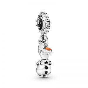 PANDORA Disney Frost Olof Hängberlock Berlocker fri frakt på Jewelrybox.se