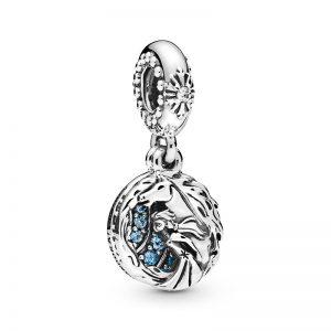PANDORA Disney Frost Elsa Och Nokk Berlocker fri frakt på Jewelrybox.se