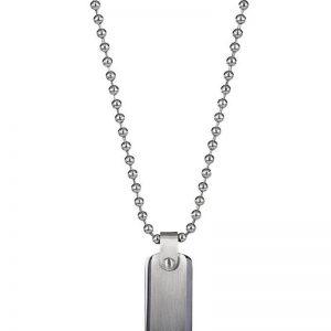 AROCK  MARTIN Halsband Stål