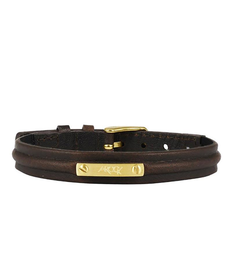 AROCK NOEL Armband Brunt/Guld