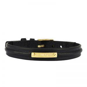 AROCK  NOEL Armband Svart/Guld
