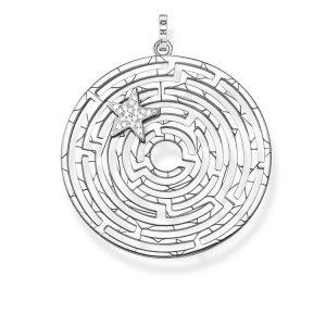 Thomas Sabo Hängsmycke Labyrint Med Silverstjärna