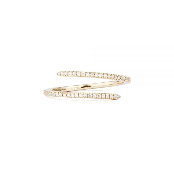 Engelbert Petit Spin Ring Guld White Diamonds