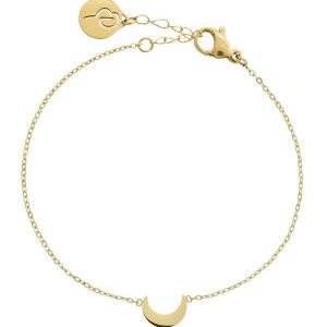Edblad Armband Bright Night Bracelet Gold - Jewelrybox.se