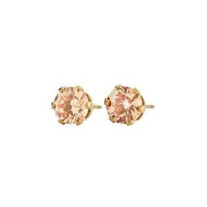 Edblad Örhängen Crown Studs Gold Champagne - Jewelrybox.se
