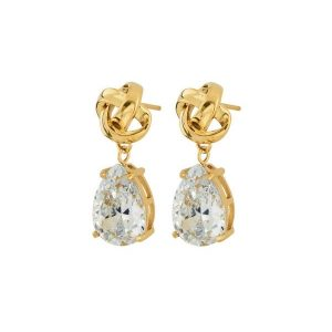 Edblad Örhängen Gala Earrings cz Gold - Jewelrybox.se