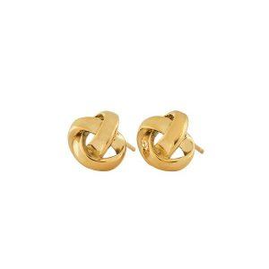 Edblad Örhängen Gala Studs Gold - Jewelrybox.se