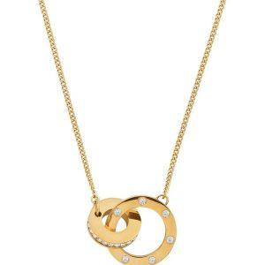 Edblad Halsband Ida Necklace Short Gold - Jewelrybox.se
