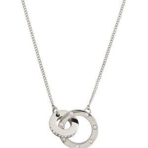 Edblad Halsband Ida Necklace Short Steel - Jewelrybox.se