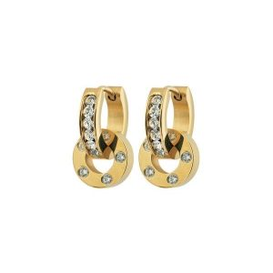 Edblad Örhängen Ida Orbit Earrings Gold - Jewelrybox.se