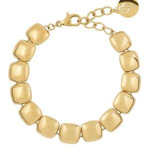 Edblad Armband Isle Bracelet Gold - Jewelrybox.se
