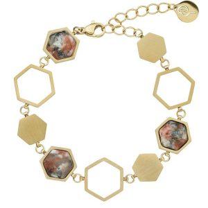 Edblad Armband Sapphire Bracelet Energy Matt Gold - Jewelrybox.se