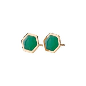 Edblad Örhängen Sapphire Studs Harmony Gold - Jewelrybox.se