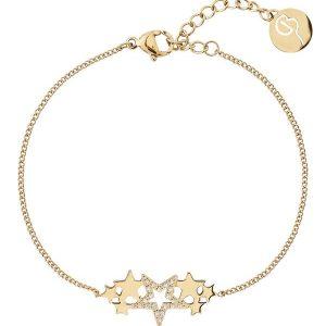 Edblad Armband Starfield Bracelet Gold - Jewelrybox.se