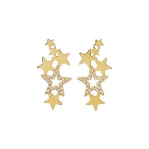 Edblad Örhängen Starfield Earrings Gold - Jewelrybox.se