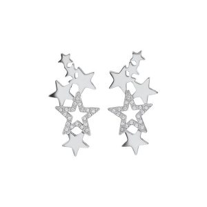 Edblad Örhängen Starfield Earrings Steel - Jewelrybox.se