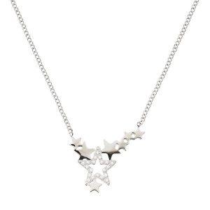 Edblad Halsband Starfield Necklace Steel - Jewelrybox.se