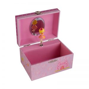 Dacapo Smyckeskrin barn rosa speldosa - Jewelrybox.se
