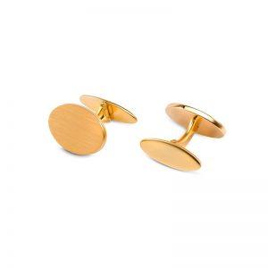 Manschettknappar 18 K Guld Matt från Ateljé TeBoon