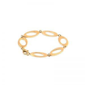 Ateljé TeBoon Oval & Out Multi Armband 18 K Guld