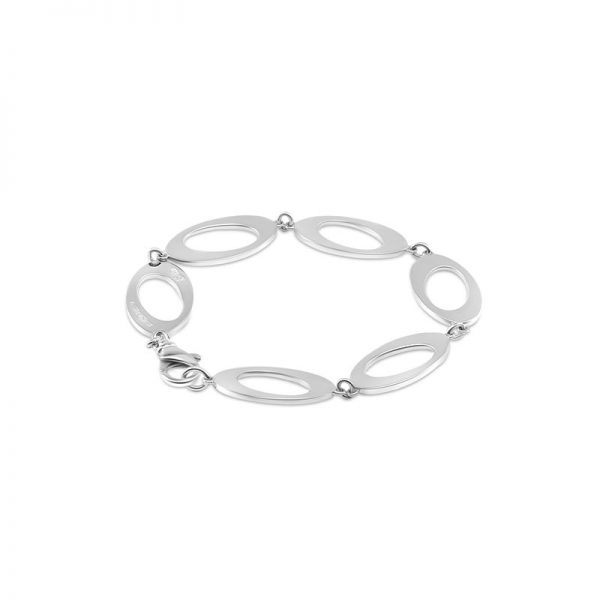 Ateljé TeBoon Oval & Out Multi Armband Silver