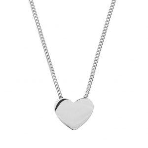 Pure Heart Halsband Stål